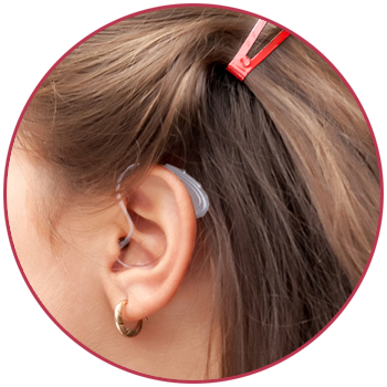 Mini BTE Open fitting Hearing Aid for kids