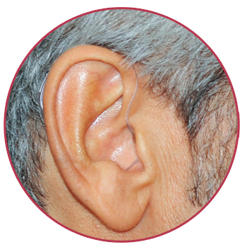Mini Behind-The-Ear Hearing Aid for Senior Citizen